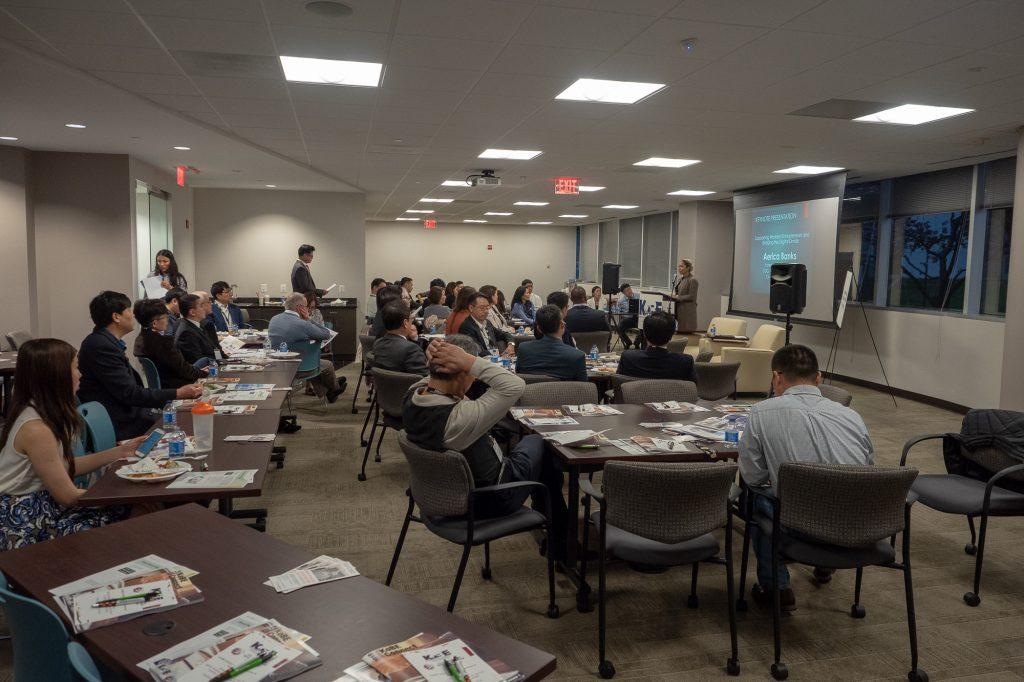 KoBE-USIDC 2020 1st Quarterly Seminar and Networking Dinner 5/24/2018 6