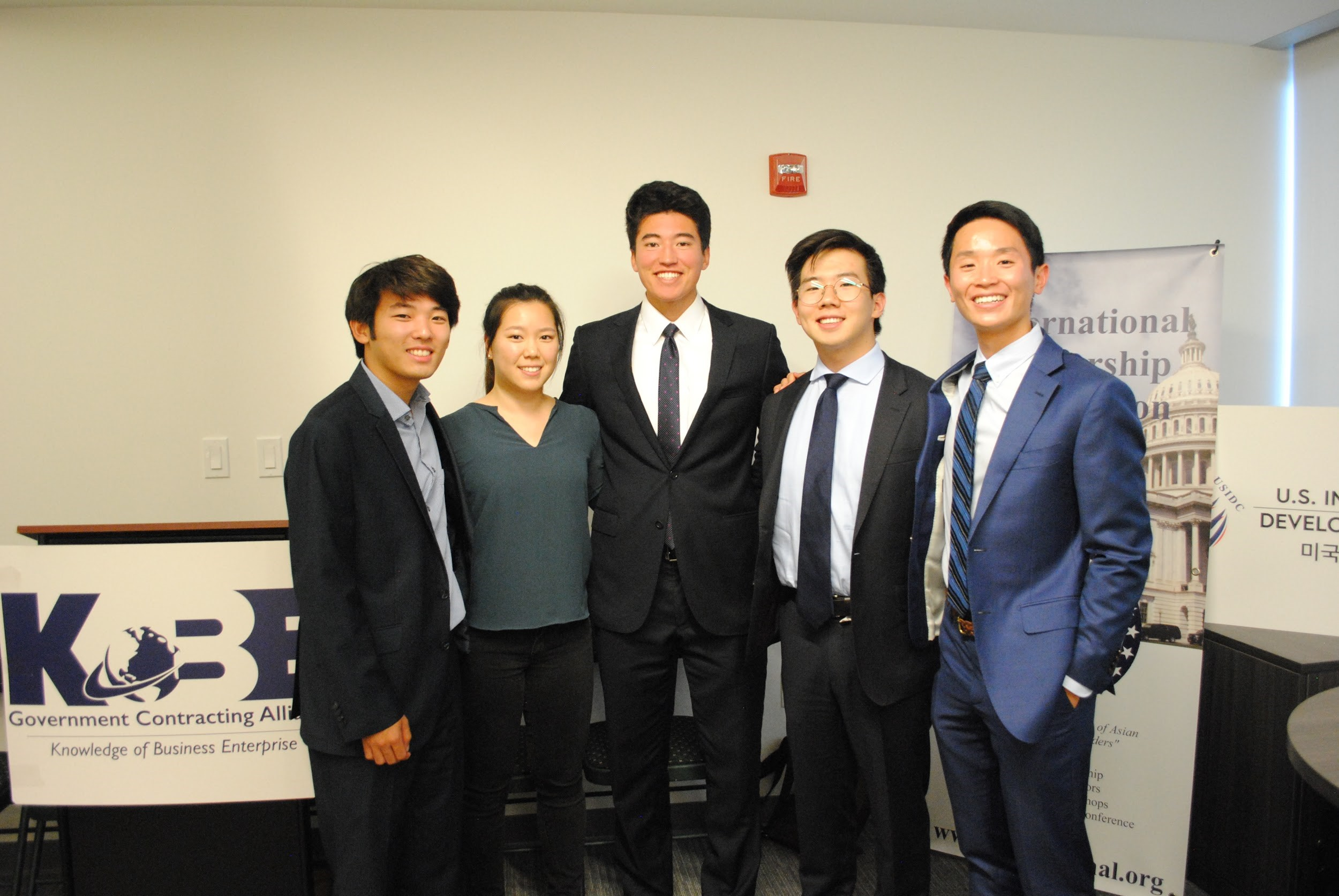 Korean American Leaders Tomorrow Supported by KoBE & USIDC